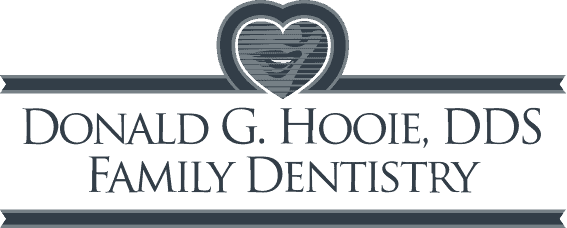 Hooie dental footer logo.